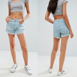 Noisy May ASOS | High Cut Off Denim Shorts